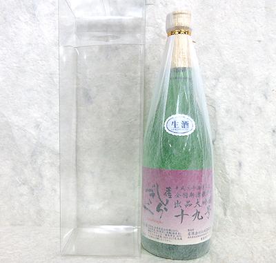 仙頭酒造 土佐しらぎく 出品大吟醸 十九号 限定生 720ml【クール】