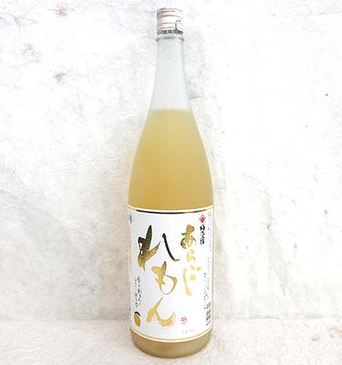梅乃宿 あらごし れもん酒 1800ml【夏季限定】