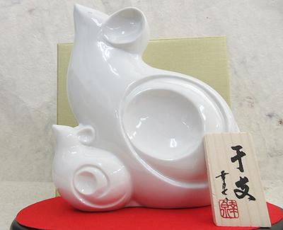 高木酒造 開運干支 子(ねずみ)青磁壷入り720ml