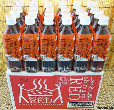 四万十(しまんと)紅茶RED 500ml×24本入