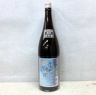 高知酒造 瀧嵐 純米ばり辛 1800ml