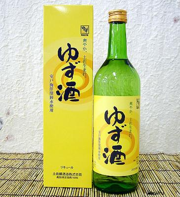 土佐鶴 ゆず酒 専用化粧箱付 720ml