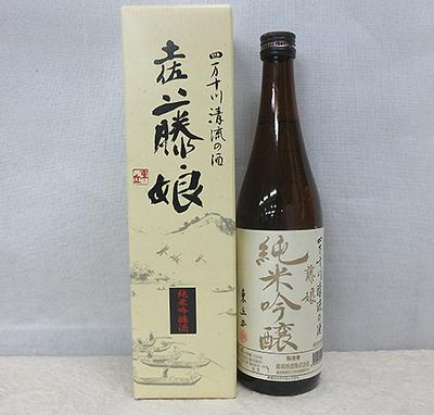 藤娘酒造 純米吟醸 藤娘 720ml