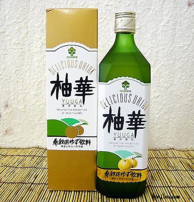 池田柚華園 柚華(ゆうが) 化粧箱入り 720ml