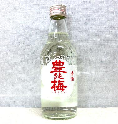 高木酒造  豊能梅 楽鴬(らくおう)上撰酒【どろめ祭専用酒】360ml