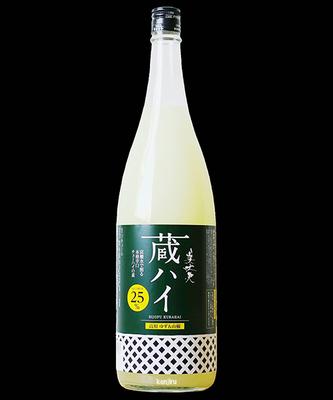 濱川商店 美丈夫 蔵ハイ 高知ゆず&山椒 1.8L 25度