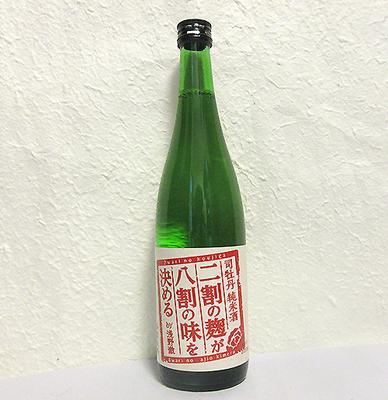 司牡丹 純米酒 二割の麹が八割の味を決める 720ml