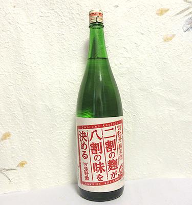 司牡丹 純米酒 二割の麹が八割の味を決める 1800ml