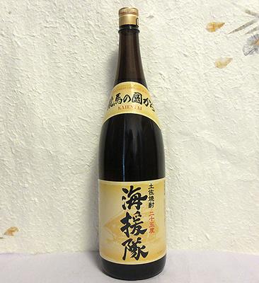 土佐鶴酒造 土佐焼酎 海援隊(米焼酎)25度 1800ml