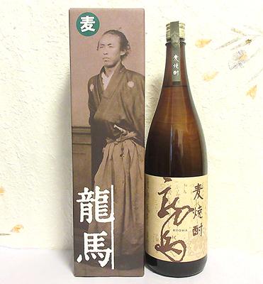 菊水酒造 麦焼酎 龍馬(箱付)25度 1800ml
