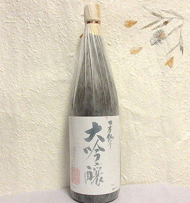西岡酒造 一本釣り 大吟醸原酒 1800ml【クール便】