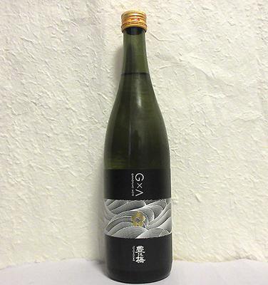 高木酒造 豊能梅 G×A 黒 生酒 純米吟醸 720ml【クール便】
