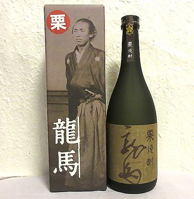 菊水酒造 栗焼酎 龍馬(箱付)25度 720ml