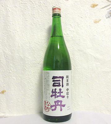 司牡丹 なかま酒 純米酒 中取り 1800ml