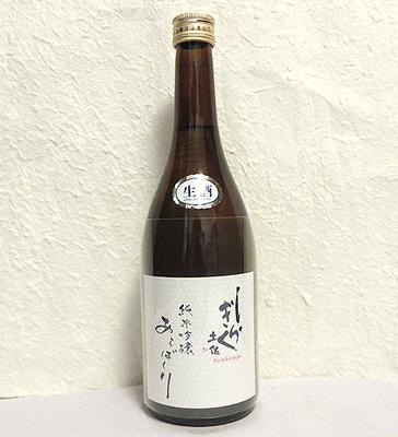 仙頭酒造 土佐しらぎく 純米吟醸 あらばしり 八反錦 720ml【クール便】