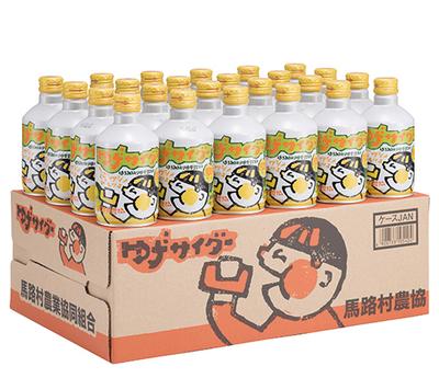馬路村農協 馬路村ゆずサイダー 280ml缶x24本入【1ケース】