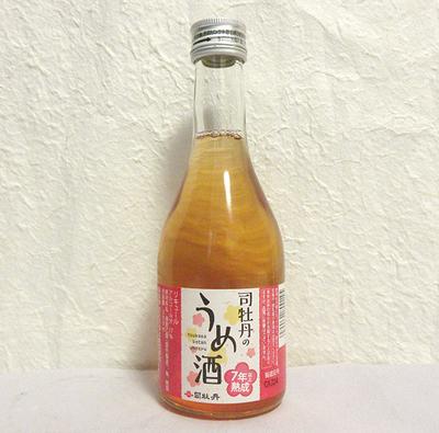 司牡丹 7年熟成うめ酒(梅酒)17度 300ml