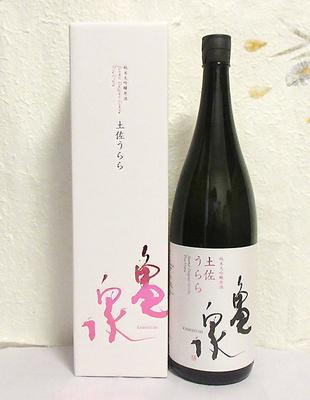亀泉酒造 土佐うらら 純米大吟醸原酒 1800ml