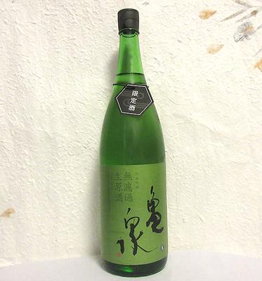 亀泉酒造 純米吟醸 無濾過生原酒 限定品1800ml【クール便】