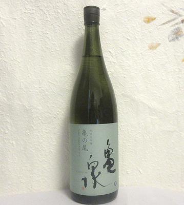 亀泉酒造 亀の尾 純米大吟醸 生酒 1800ml【クール便】