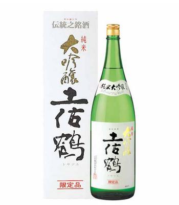 土佐鶴 純米大吟醸 限定品 1800ml