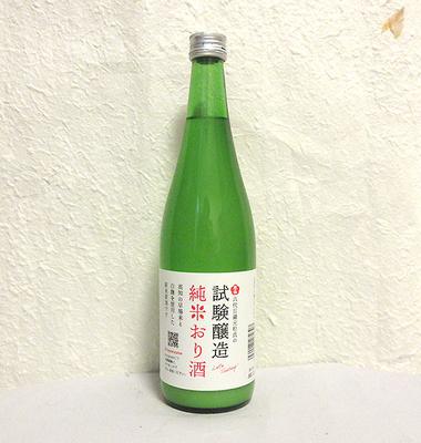 高木酒造 豊能梅 試験醸造 純米おり酒 720ml
