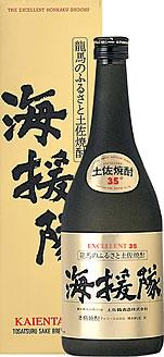 土佐鶴酒造 土佐米焼酎 海援隊 35度 720ML