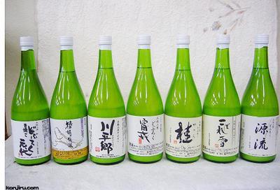 三原村のどぶろく(甘口・辛口)7種フルセット 720ml×7本