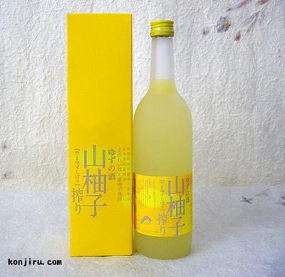 司牡丹 山柚子搾り ゆずの酒 720ml 8度