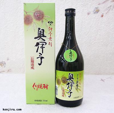媛囃子 栗焼酎 奥伊予 長期貯蔵 25度 720ml