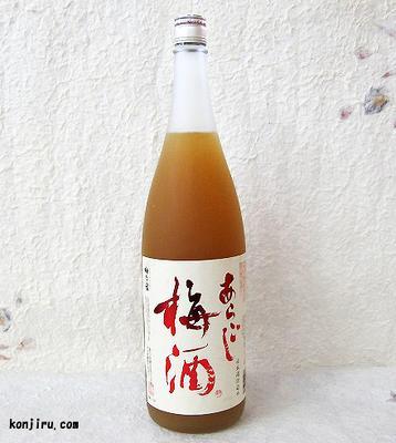 梅乃宿 あらごし梅酒 1800ml 12度