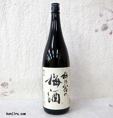 梅乃宿酒造 梅乃宿の梅酒 1800ml 12度