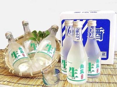 高知酒造 本醸造 生瀧嵐 金撰 6本入り【クール便】