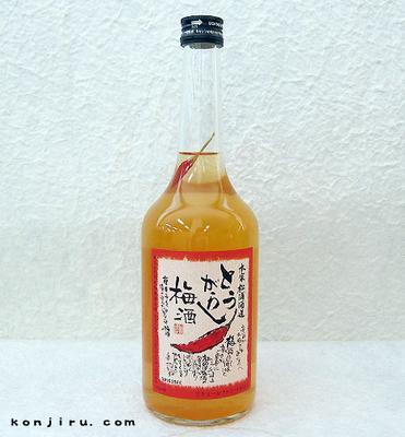 本家松浦酒造 とうがらし梅酒 12度 720ml