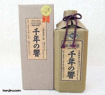 今帰仁酒造 琉球泡盛古酒 千年の響 43度 720ml