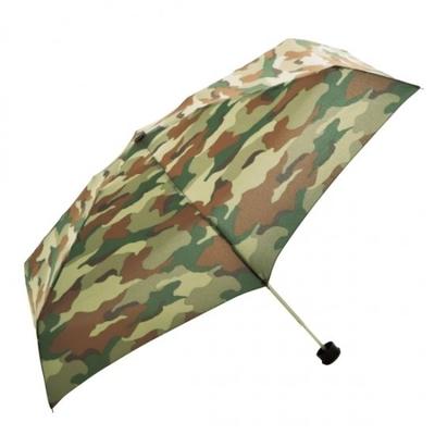 HUS. スマートデュオ カモフラージュ折りたたみ傘