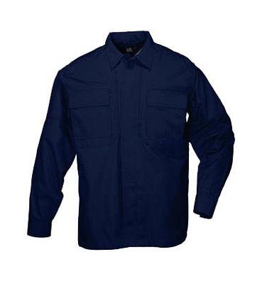 5.11 TacLite TDU Long Sleeve Shirt タックライトTDUシャツ(ダークネイビー)72054