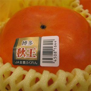 【送料込み】秋王(あきおう)柿10玉(化粧箱)