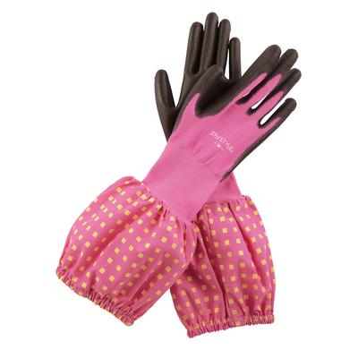ウレタンコーティング背抜き袖付手袋
