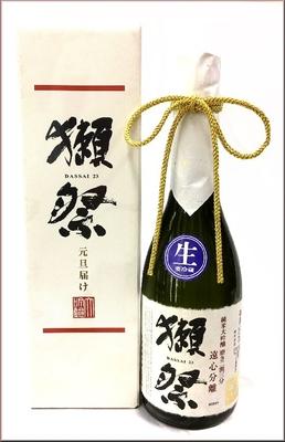 山口県 旭酒造 獺祭(だっさい) 純米大吟醸 磨き二割三分 遠心分離おりがらみ(生酒)  720ml【要冷蔵指定】
