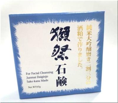 山口県 旭酒造 獺祭(だっさい) 酒粕石鹸 65g(洗顔用ソープ)