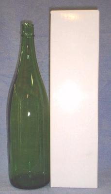 一升瓶(1800ml) 1本用 ギフト箱 白(無地)【お酒と一緒にご注文下さい】【お酒と同数まで】