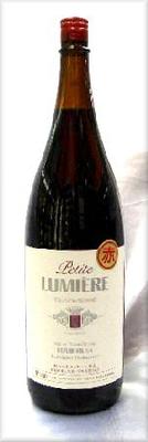 山梨県 ルミエール プチルミエール 赤ワイン