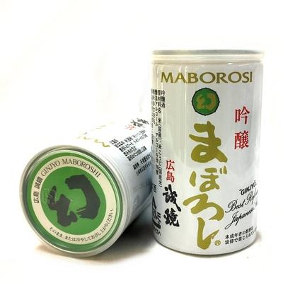 広島県 誠鏡 吟醸 まぼろし 180ml缶カップ酒