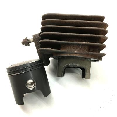 2stジャイロ用マロッシ(malossi)ボアアップシリンダー補修75cc化(49mmピストン)ボーリング加工