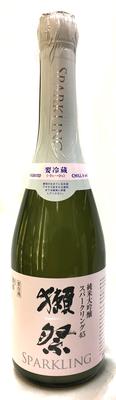 山口県 旭酒造 獺祭(だっさい) 発泡にごり酒スパークリング45 (本生)【絶対冷蔵商品】