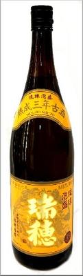 瑞穂 熟成三年古酒 泡盛 35度 1800ml