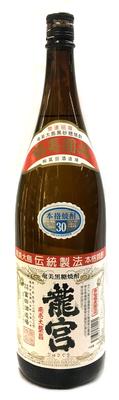 龍宮 黒糖焼酎 30度 1800ml