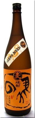 寿海酒造 の馬 麦焼酎 25度