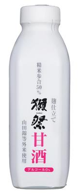 麹仕立て 獺祭甘酒 825g(ペットボトル仕様)